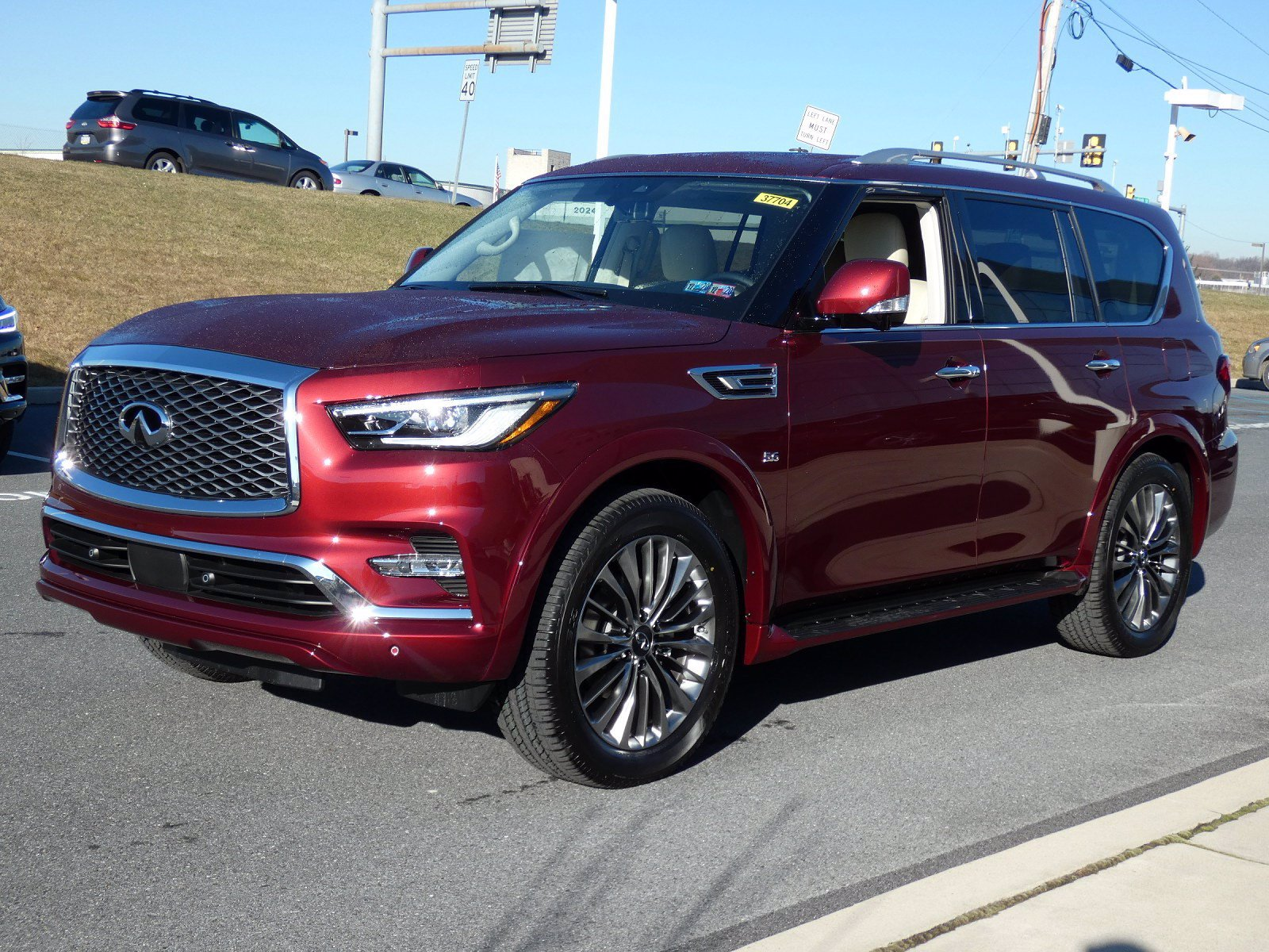 new 2020 infiniti qx80 luxe 4wd suv in allentown #37704