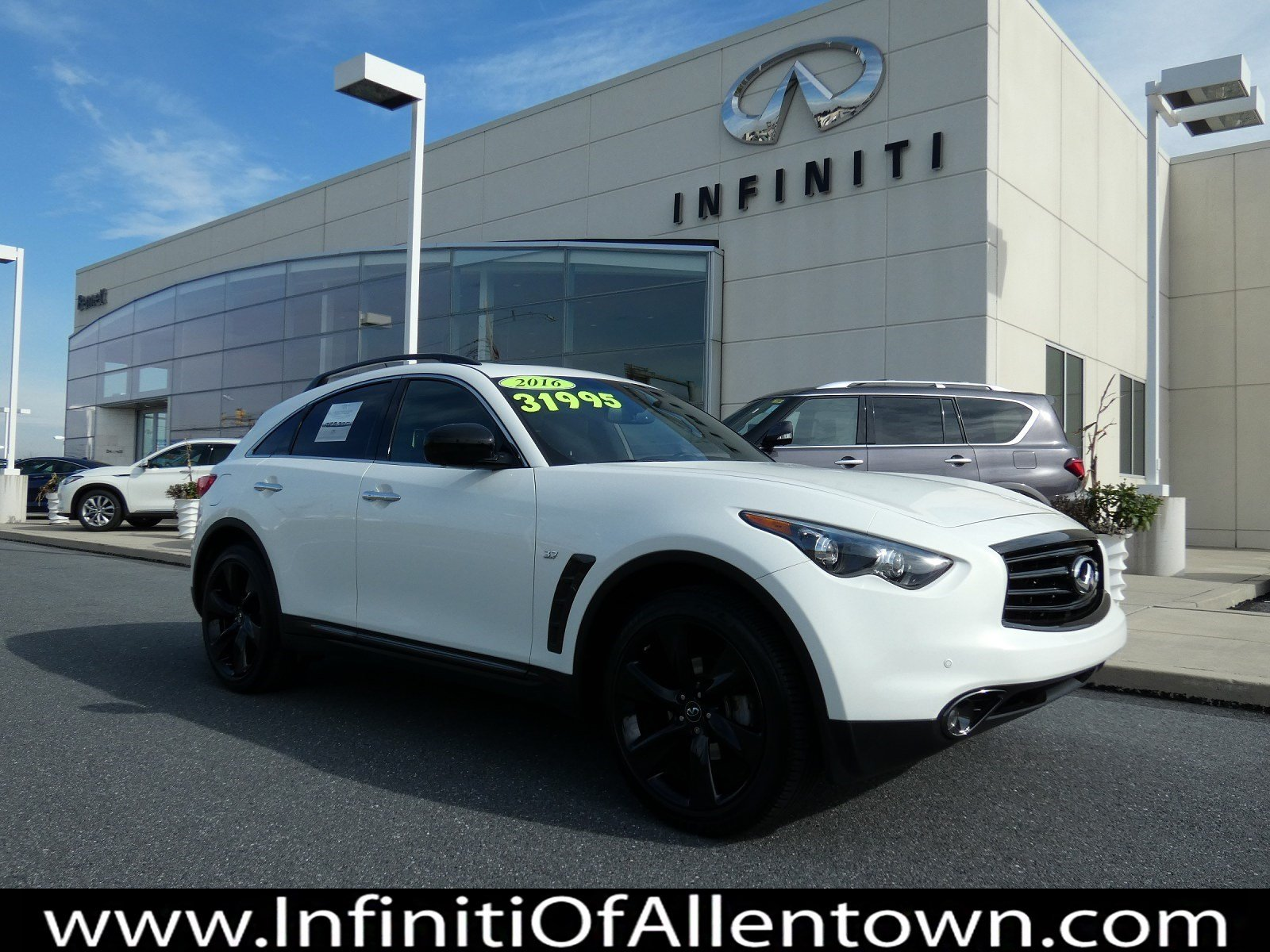 Certified Pre-Owned 2016 INFINITI QX70 4DR AWD