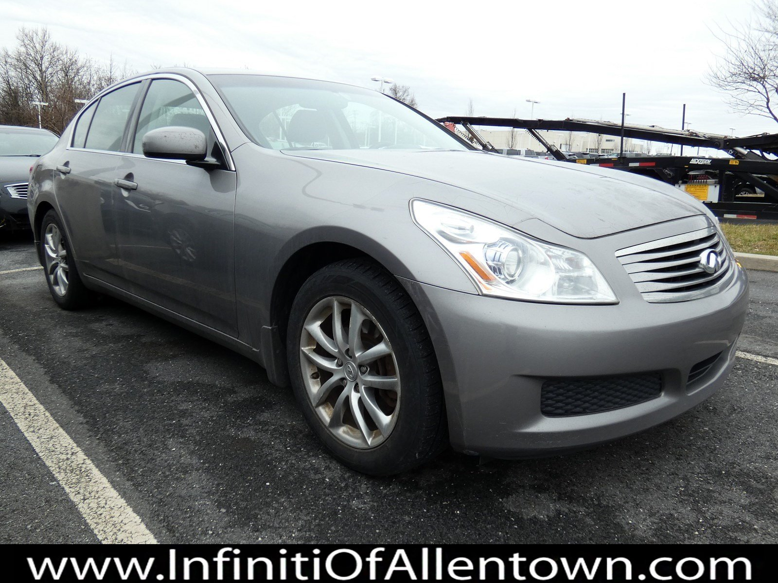 Pre-Owned 2007 INFINITI G35 Sedan G35x
