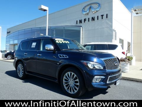 Certified Pre-Owned 2016 INFINITI QX80 4DR 4WD