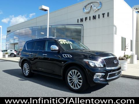 Certified Pre-Owned 2017 INFINITI QX80 4DR AWD